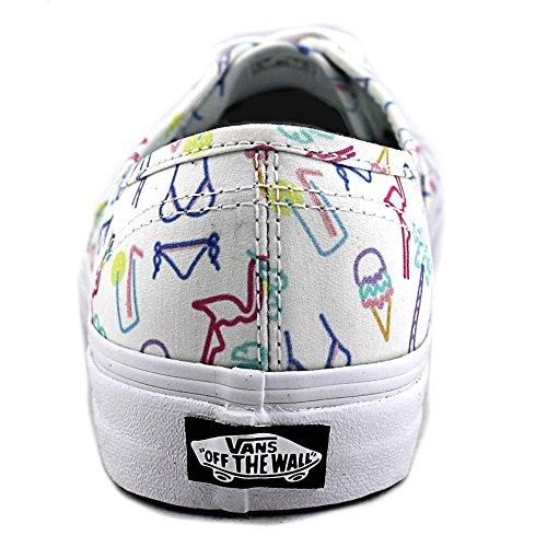 Vans Unisex Authentic Skateschuh Tropisches / Wahres Weiß