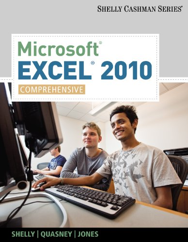 Microsoft Excel 2010: Comprehensive (SAM 2010 Compatible Products) Pdf