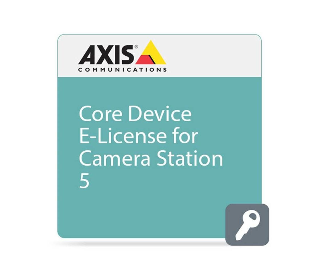 AXIS 0879-010 One Camera Station Version 5.0 Core Device License