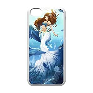 James-Bagg Phone case Love dolphins,cute dolphin pattern For iphone 5c iphone 5c FHYY430769
