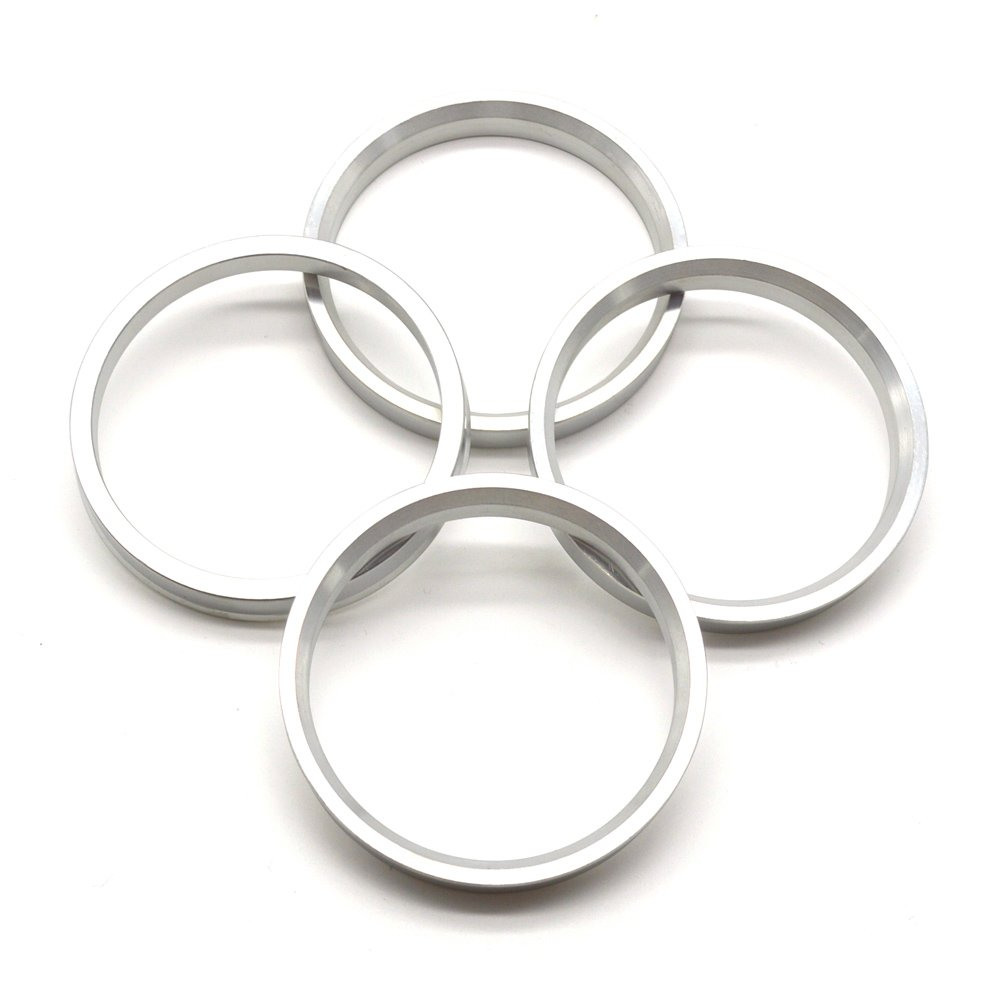 73.1mm OD to 64.1mm ID Hub Centric Rings, Silver Aluminum Hubcentric Rings for Many ACURA HONDA STERLING, Pack of 4 GoldenSunny