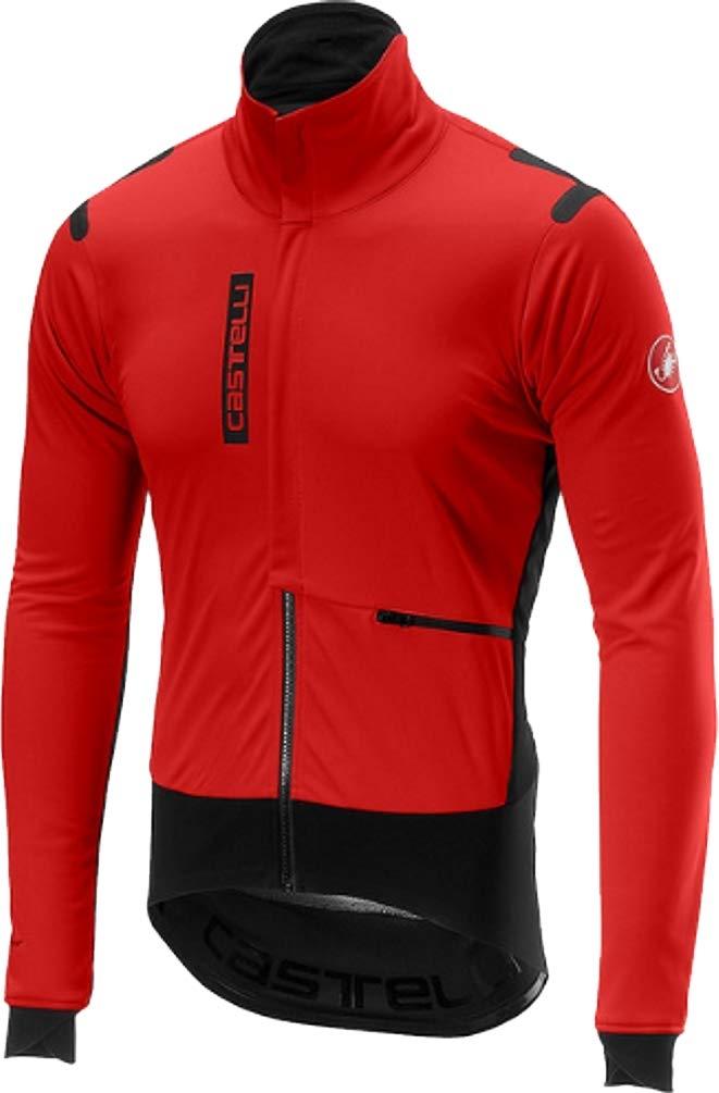 Castelli Alpha ROS Light Jacket - Men's Red/Black, XL