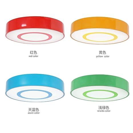 TXDZ ® Habitación para niños Lámpara de techo Color Círculo ...