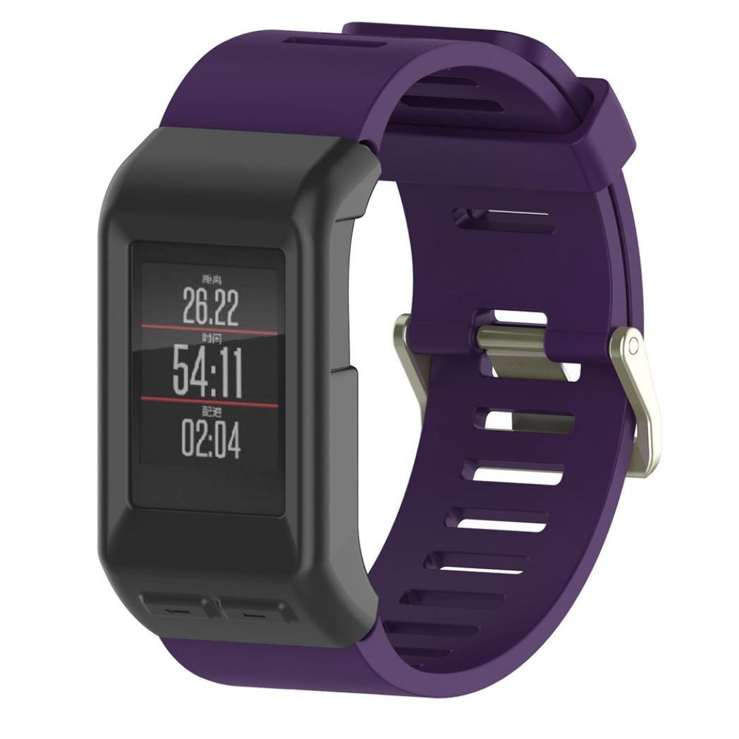Liping Watchバンド – ソフトシリコンスリム腕時計バンド交換用ブレスレットストラップリストバンドfor Garmin vivoactive HRスマートウォッチGPS B0762ZQ69S A Regular