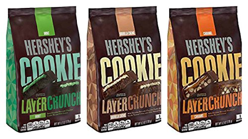 Hershey's Cookie Layer Crunch (3 Flavor Sampler Pack)