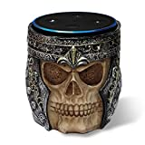 Skull Statue Stand for Amazon Echo Dot, Alexa Echo Dot Case/Mount for 2nd and 1st Generation and Jam Classic Speaker Holder By Cozysmart (Skull Statue)