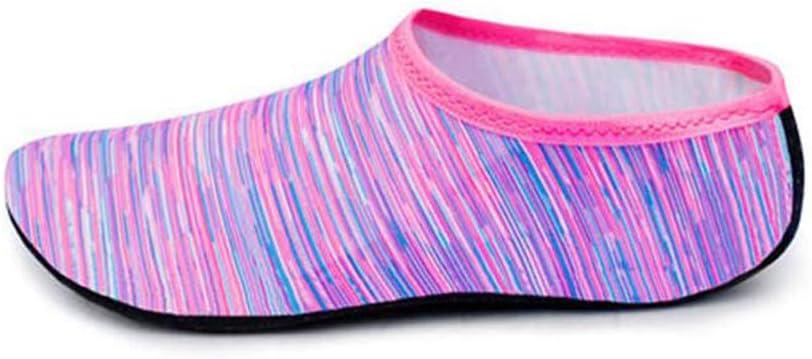 1 Par Zapatos de Hombres y Mujeres Zapatos de Agua de Nataci/ón Descalzo de Aqua Calcetines para la Piscina de Playa Surf Yoga Unisex