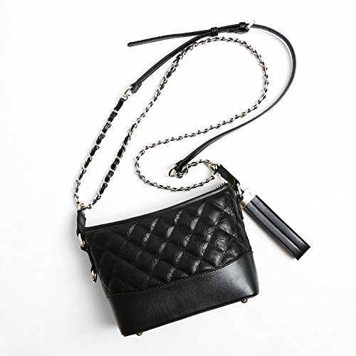 Femme black Petit Parfumé Match Messager Sac D'Épaule Sac GUANGMING77 Seau Chaîne Sac Tous De O6qwOdX