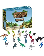 lossomly Jul adventskalender dinosaurie leksak 24-dagars jul nedräkningskalender blind låda överraskande present för barn juldekoration