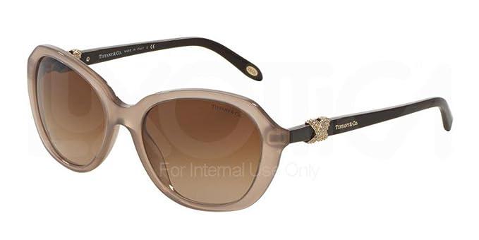 Tiffany & Co. TF4108B, Gafas de Sol Unisex Adulto, Marrón ...