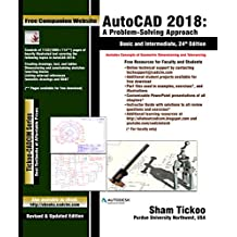 AutoCAD 2018: A Problem-Solving Approach, Basic and Intermediate, 24th Edition