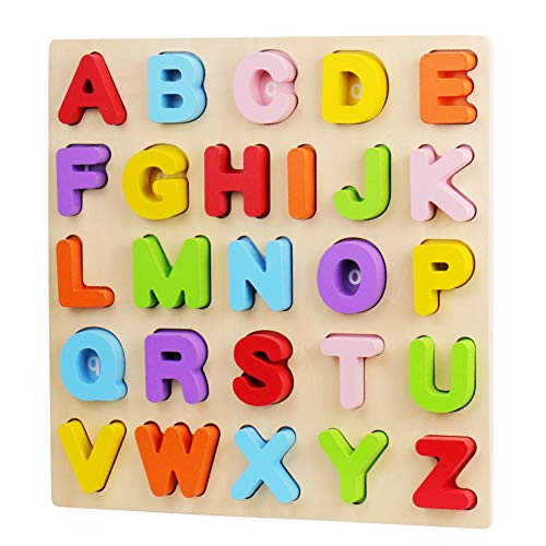 Wood City ABC Letter Puzzles