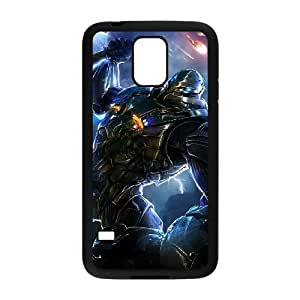 section 8 video game wide Samsung Galaxy S5 Cell Phone Case Black xlb2-057181