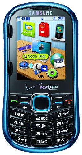 (Samsung Intensity II, Metallic Blue (Verizon Wireless) )