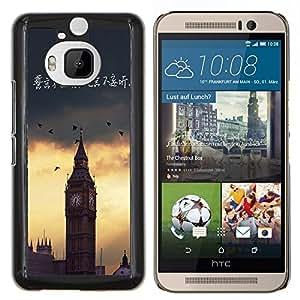 Dragon Case - FOR HTC One M9+ / M9 PLUS - not speaking out of turn - Caja protectora de pl??stico duro de la cubierta Dise?¡Ào Slim Fit
