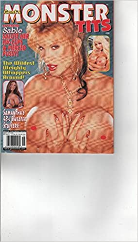 Gents Monster Tits Issue 58 Sable Holiday Gent Amazon Com Books