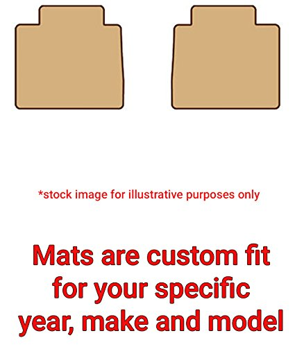 2014 Chevrolet Sonic Carpeted Car Floor Mats - 2 Piece 2nd Seat Set, Tan