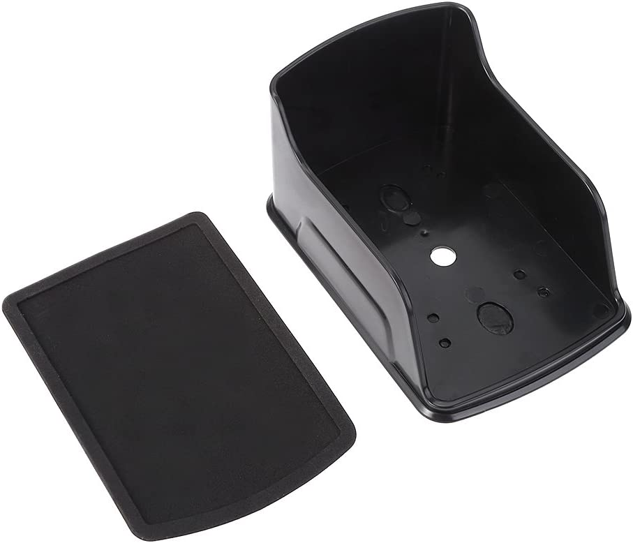 BGH Couvercle /Étanche pour Sonnette sans Fil Etc. Smart Door Bell Ring Carillon Button Transmitter Launchers Protection Transparente Efficace Anti-Pluie//Neige//Soleil