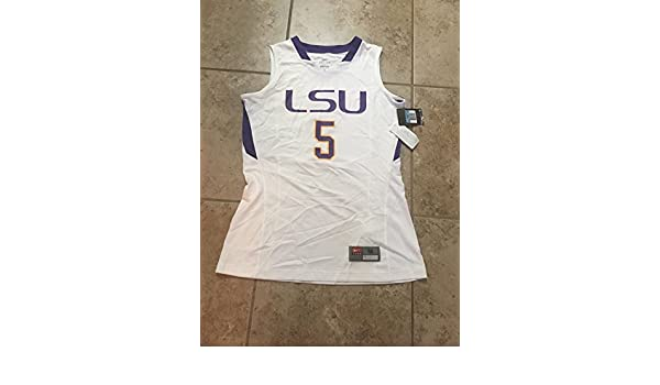 88ec78fafdf Nike Women's LSU Tigers Basketball Jersey Sz. Medium NEW 554770 110 BB001  at Amazon's Sports Collectibles Store
