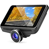 OldShark G16 Car Camera - Dash Cam with 4.5 IPS Touch Screen, Real Starlight Night Vision Dashboard Cam 1080P FHD 170 Wide-Angle Car DVR Recorder with ADAS, G-Sensor, WDR, Dashcams for Car and Trucks