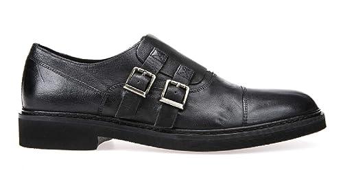 Mocasines para Mujer, Color Negro, Marca GEOX, Modelo Mocasines para Mujer GEOX U DAMOCLE Negro: Amazon.es: Zapatos y complementos