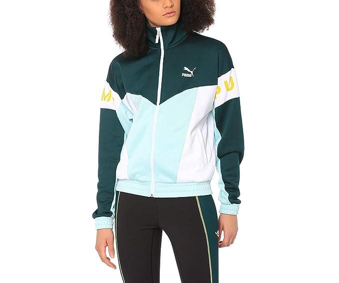 Royaume-Uni disponibilité a5244 b1e88 Puma Veste XTG 94 Vert Femme: Amazon.fr: Vêtements et ...