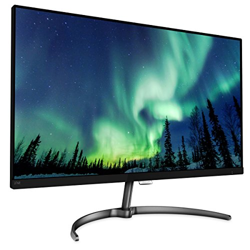 "Philips 276E8FJAB 27"" Class IPS Slim LED Monitor, 2560 x 1440, 350cd/m2, 4ms, Speakers, VGA, DisplayPort, HDMI by Philips Computer Monitors"