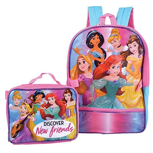 Disney Princess Backpack With Lunch Kit Backpack