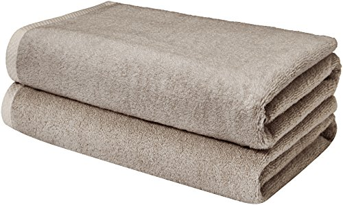 AmazonBasics Quick-Dry Bathroom Towels