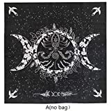 yunestry Altar Tarot Cloth Triple Goddess Moon