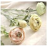 Mynse-5-Pieces-228-Inch-Single-Silk-Peony-Artificial-Ranunculus-Posy-Lu-Lotus-Flower-Pink
