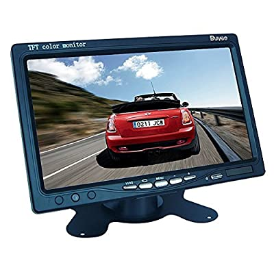 "EconoLed 7"" LED Backlight TFT LCD Monitor for Car Rearview Cameras, Car DVD, Serveillance Camera, STB, Satellite Receiver and other Video Equipment"
