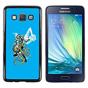 Be Good Phone Accessory // Dura Cáscara cubierta Protectora Caso Carcasa Funda de Protección para Samsung Galaxy A3 SM-A300 // Abstract Cloud Art