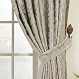 """IYUEGO Aspire Embossed Blackout Thermal Rod Pocket Curtain Drapes With Multi Size Custom 72"""" W x 96"""" L (One Panel)"""