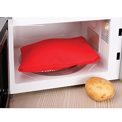 Express Microwave Potato Cooker - Perfect oven baked potatoes in just 4 minutes - Works on any type of potatoes - Holds up to 4 large potatoes - Reusable and machine washable (5) by A-cool (Image #3)