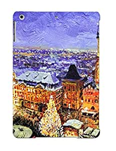 Bshaky-5986-mlgkr Crooningrose Awesome Case Cover Compatible With Ipad Air - Prague Old Town Square Christmas Market