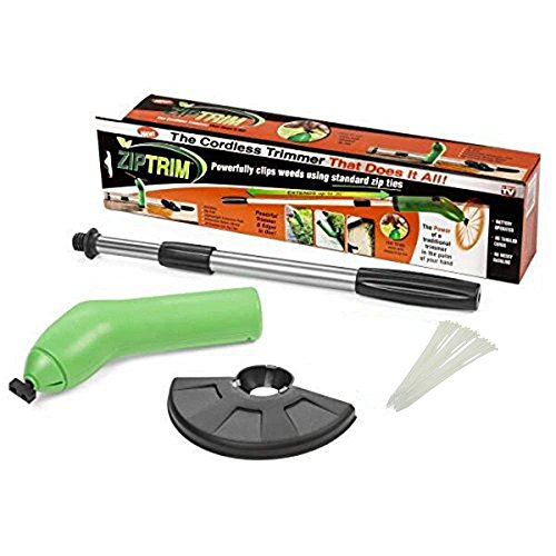 CHALOO Zip Trim Cordless Trimmer & Edger - Works with standard Zip Ties (2) by CHALOO