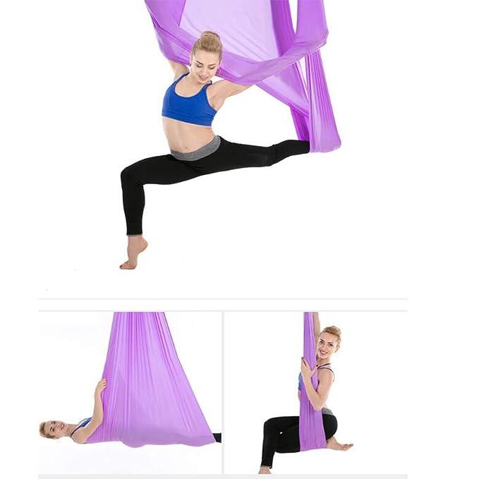 ZMJY Swing de Yoga, Conjunto de Hamaca de Yoga aéreo, Aerial ...