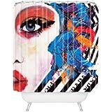 "Deny Designs Lana Greben Real Fantasies Prada 3 Shower Curtain, 69"" x 72"""