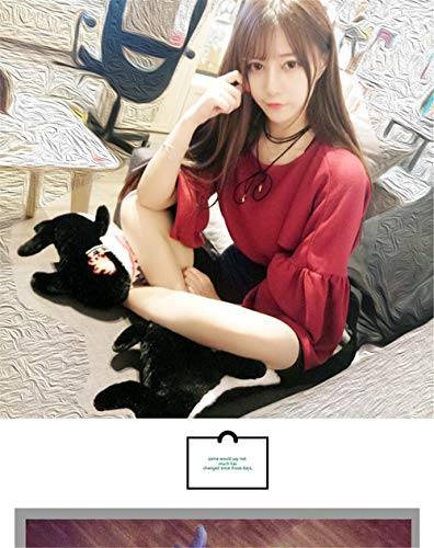 Comfortable Outdoor Indoor amp; onshark Women And Plush Men Slip Wall Shoes Winter Night Cotton 43house Black Slippers 5pIaqwx
