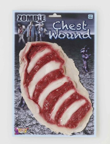 [Zombie Chest Wound Adult] (Zombie Prosthetics)