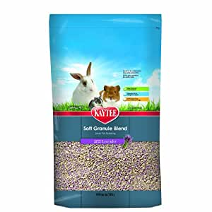 Kaytee Soft Granule Blend Lavender Bedding for Pet Cages, 10-Liter