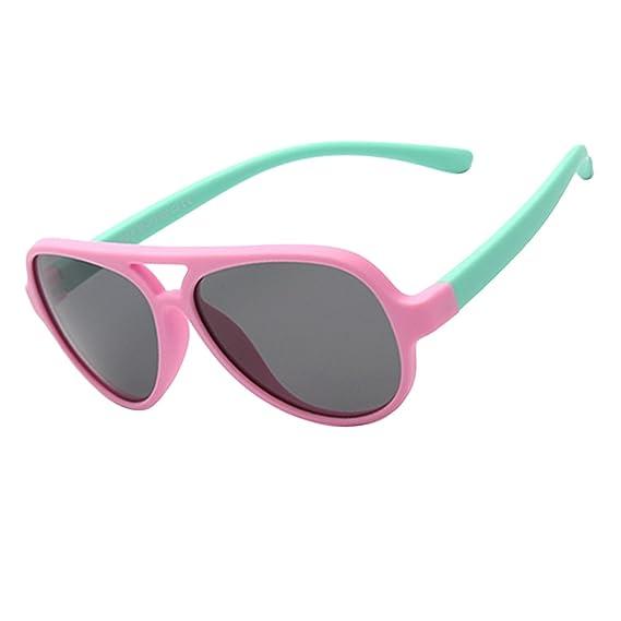 84114c340f7 Amazon.com  Zhuhaitf Specially Kids Sunglasses Outside Polarized ...