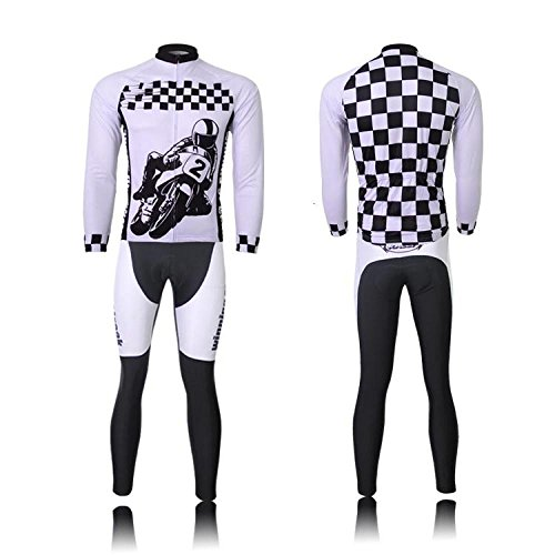 (Non-Express Shipping)(Delivery Time:30-35 days)(set(Fleece type) size:XXL) (recommend one size larger) windbreaker breathable permance new Jerseys For Jersey vest Cycling Long Men Sleeve perspiration
