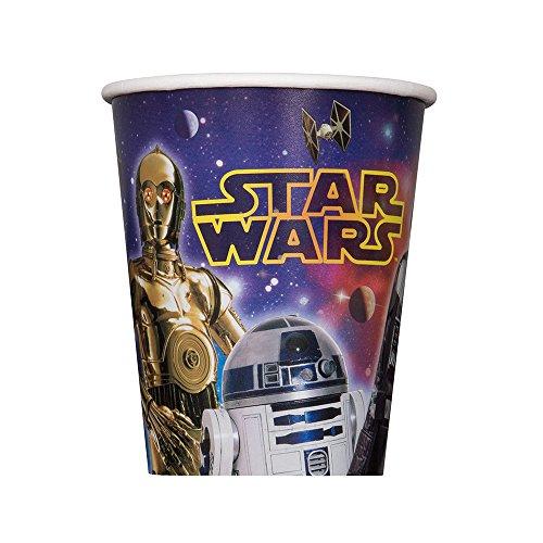 Star Wars 9oz Paper Cups (8 Per Pack)
