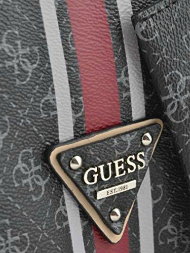 Guess College Logo Tote SG617124 Damen Umhängetasche 44x32x13cm coal
