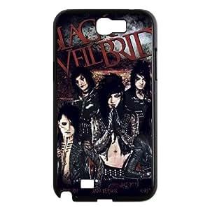 YUAHS(TM) Custom Case for Samsung Galaxy Note 2 N7100 with Black Veil Brides YAS922894
