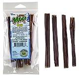 "5-6"" Inch Moo Taffy (12 Sticks) Free Range Moo! Beef Taffy Dog Treats - (3 of 4 Packs)"