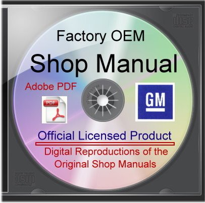 1955-1956 Chevy Car Shop Manuals on CDrom