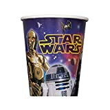 Unique Star Wars Paper Cups, 8-Count, 9-Ounce
